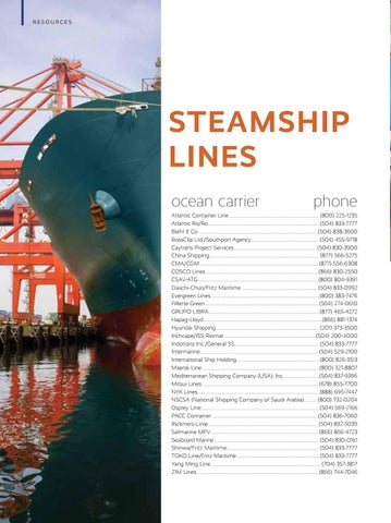 Page 24 of Steamship Lines