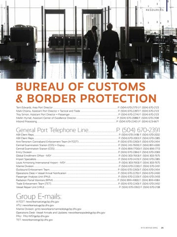 Page 27 of Bureau of Customs & Border Protection