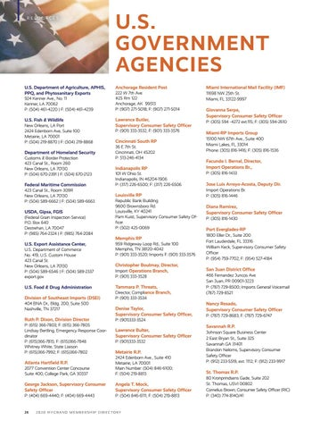 Page 28 of U.S. Government Agencies