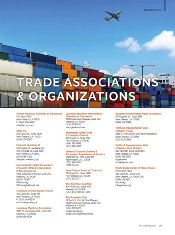 Page 29 of Trade Associations and Organizations
