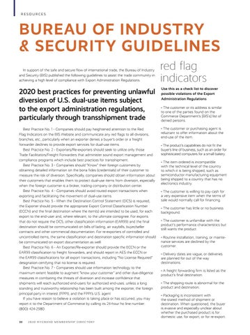 Page 32 of Bureau of Industry and Security Guidelines