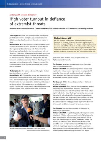 Page 6 of Michael Gahler MEP, Strasbourg/Brussels, Interview