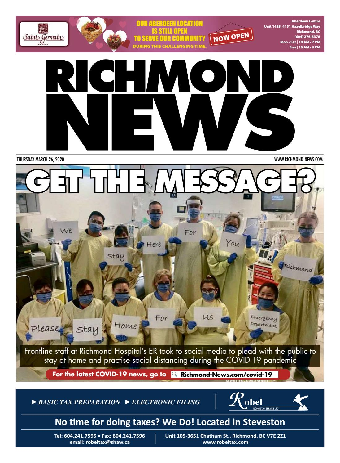 Richmond News March 26 2020 By Richmond News Issuu