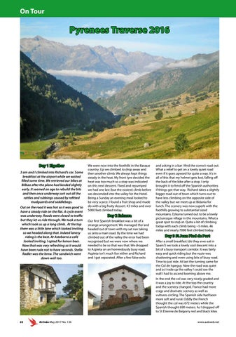 Page 22 of Pyrenees Traverse 2016