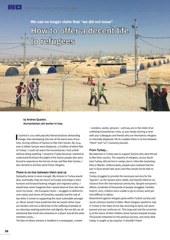Page 38 of Andrea Quaden, Iraq How to offer a decent life to refugees From Turkey to Iraq
