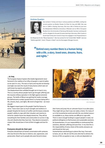 Page 39 of Andrea Quaden, Iraq How to offer a decent life to refugees From Turkey to Iraq