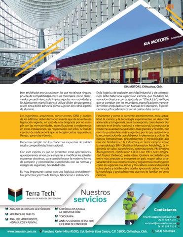 Page 23 of Las ingenierías de viento, aluminio y vidrio y su relación con la industria de la construcción (Parte ll