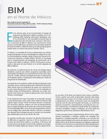 Page 29 of BIM en el Norte de México