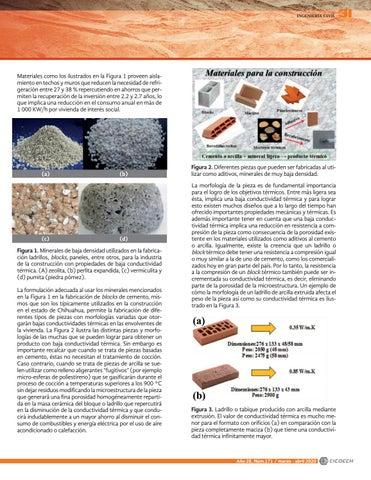 Page 33 of Incorporación de minerales de baja densidad para la producción de materiales de construcción