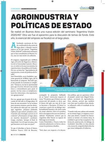 Page 30 of Agroindustria y políticas de Estado