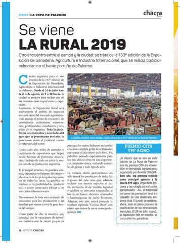 Page 38 of Se viene La Rural 2019