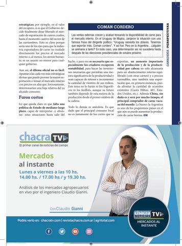 Page 41 of Política agropecuaria