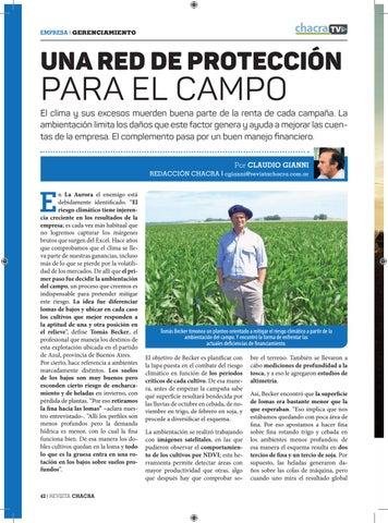 Page 42 of Una red de protección para el campo