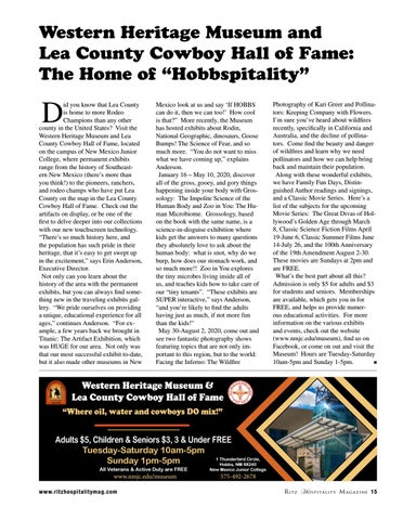 "Page 15 of Hall of Fame: The Home of ""Hobbspitality"