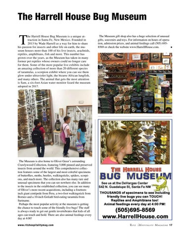 Page 17 of The Harrell House Bug Museum