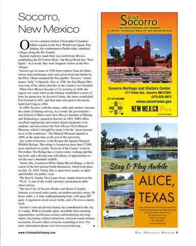 Page 9 of Socorro, New Mexico