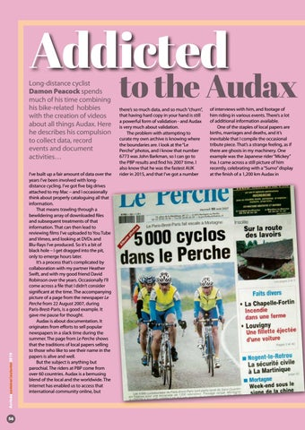Page 56 of Addicted to the Audax archive