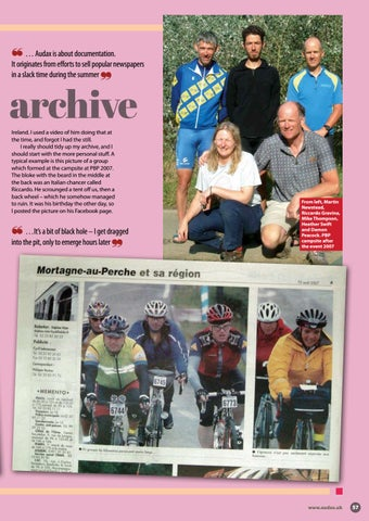 Page 57 of Addicted to the Audax archive
