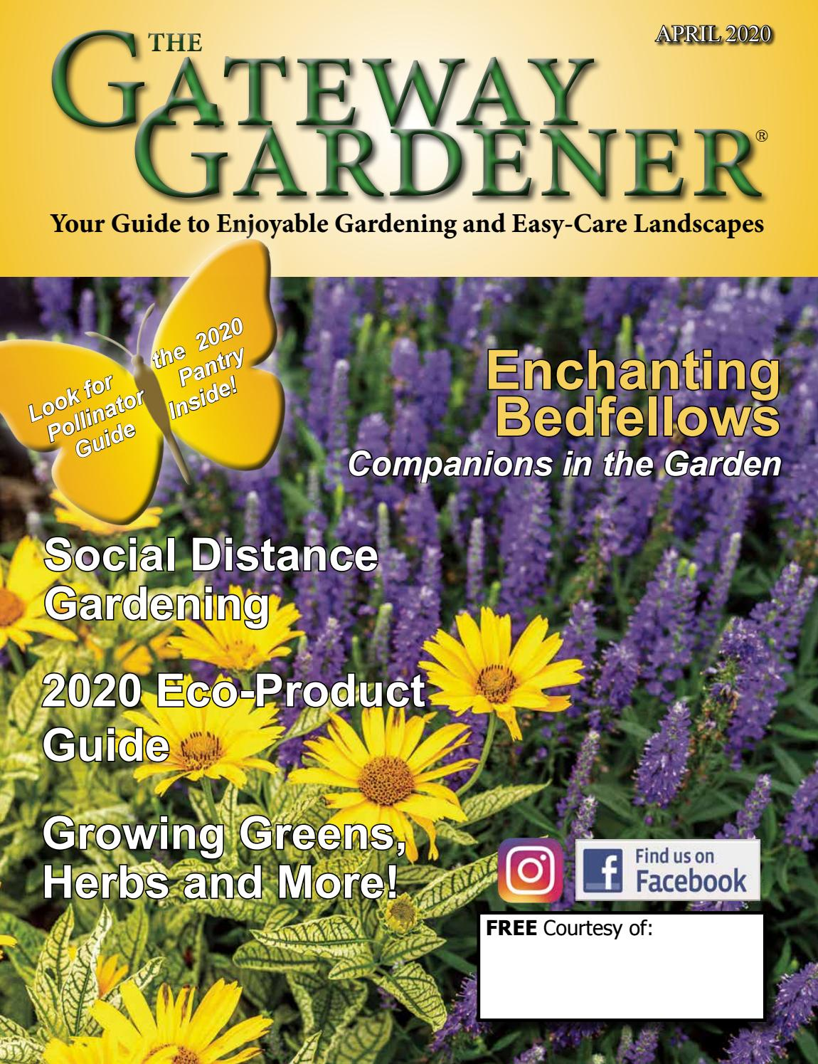 The Gateway Gardener April 2020 By