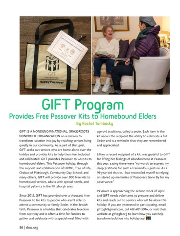 Page 36 of GIFT PROGRAM