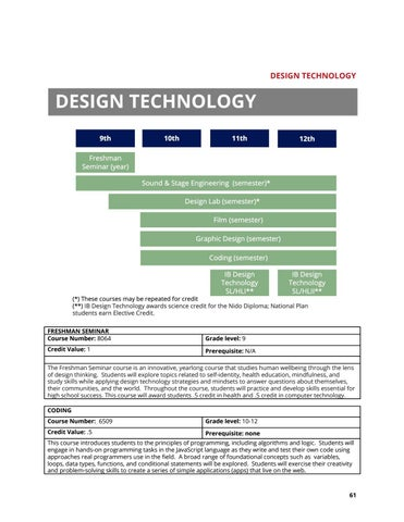 Page 62 of DESIGN TECHNOLOGY