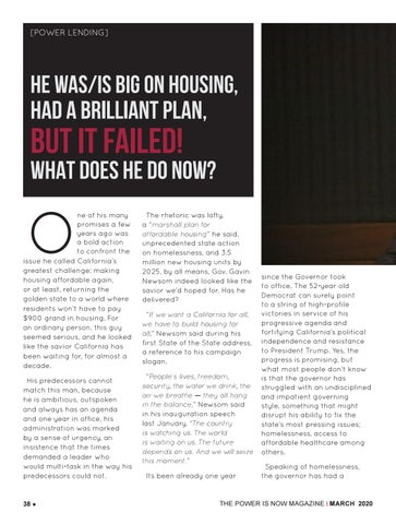 Page 38 of He was/is big on housing, had a brilliant plan, but it failed! What does he do