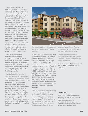 Page 63 of 60 apartments with rents as low as $400 coming to Fontana