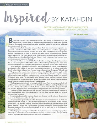 Page 30 of INSPIRED BY KATAHDIN