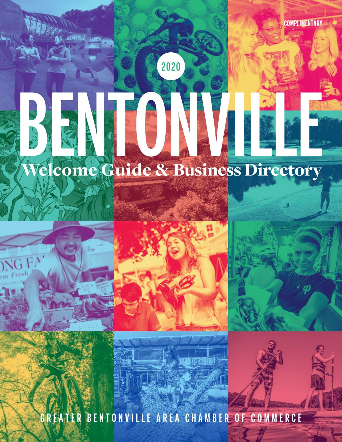 2020 Bentonville Welcome Guide Business Directory By Vantage Point Commmunications Issuu