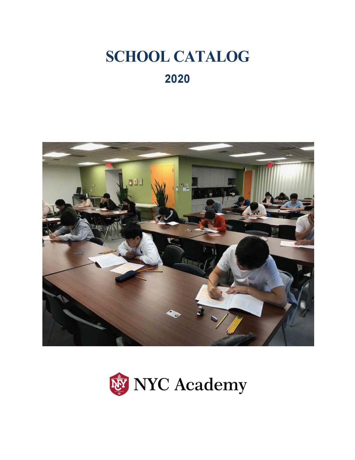 Nyc School Catalog By Nyc Academy Issuu