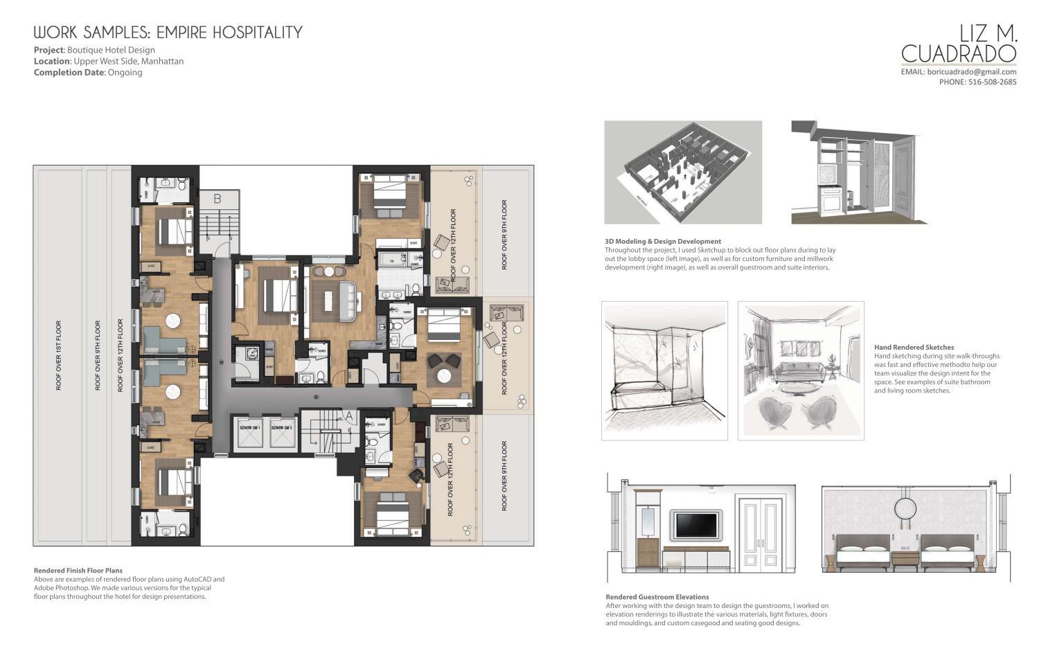 Interior Design Portfolio Sample By Liz Cuadrado Issuu