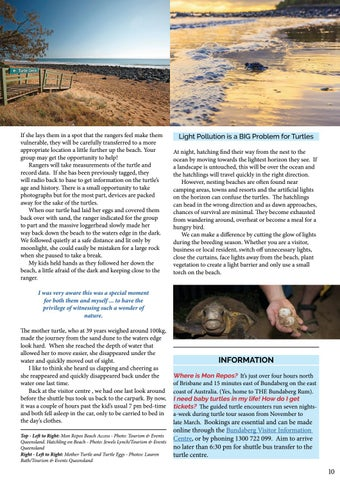 Page 11 of Discover Turtles at MON REPOS