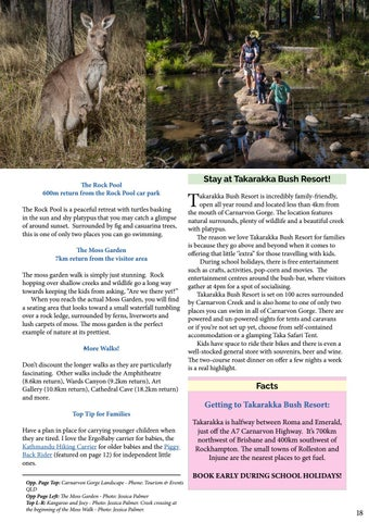 Page 19 of Explore Carnarvon Gorge