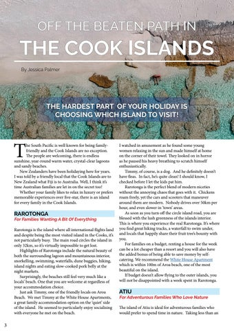 Page 4 of OFF THE BEATEN PATH IN THE COOK ISLANDS