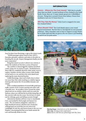 Page 5 of OFF THE BEATEN PATH IN THE COOK ISLANDS