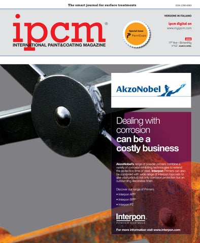 ipcm®_International Paint&Coating Magazine, Vol. XI, Num. 62
