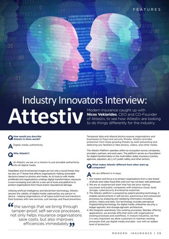 Page 39 of Industry Innovators Interview: Attestiv