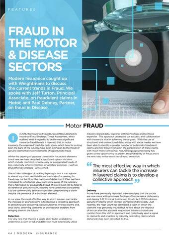 Page 44 of Fraud in the Motor & Disease Sectors