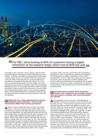 Page 49 of Leading in a New Era of Connectivity with Bain & Company