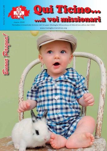 Qui Ticino... a voi missionari, Anno 52, numero 189, marzo 2020