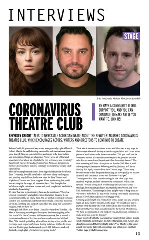 Page 13 of CORONAVIRUS THEATRE CLUB