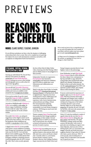 Page 4 of REASONS TO BE CHEERFUL