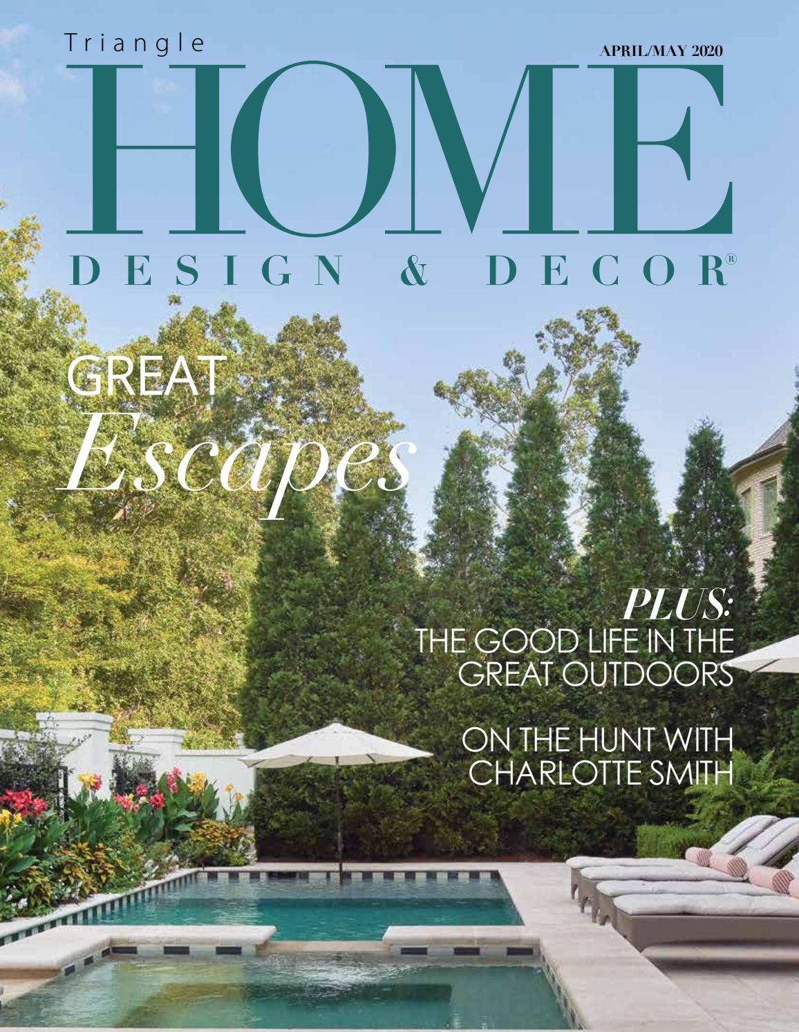 Hdd Triangle April May 2020 By Home Design Decor Magazine Issuu