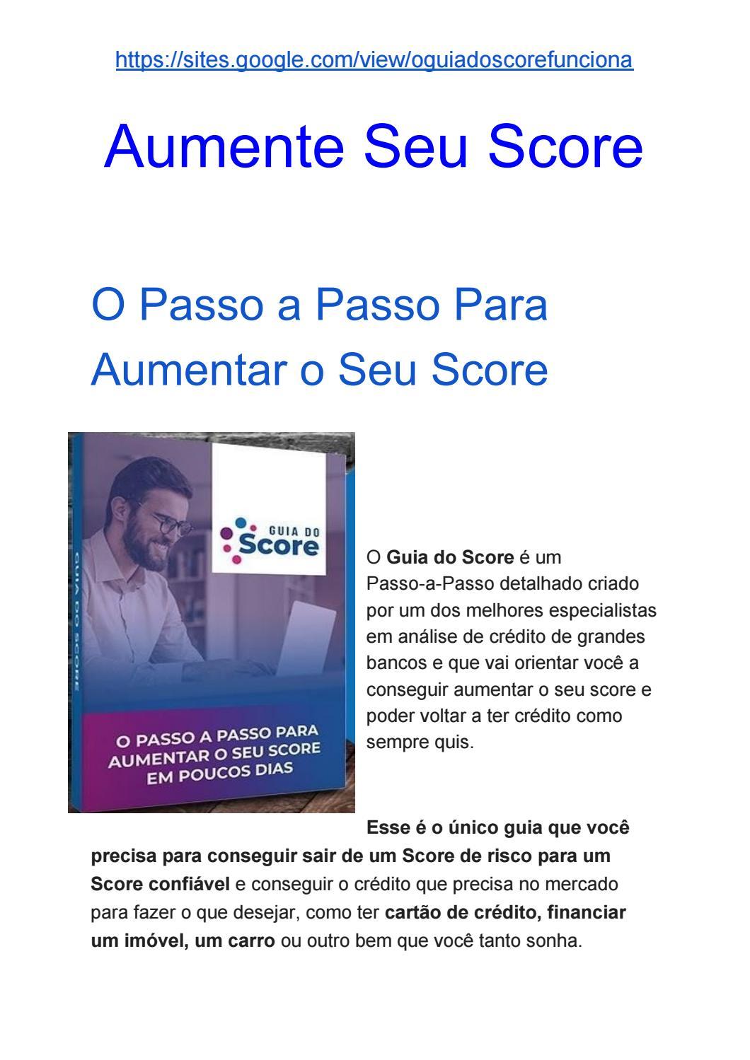 guia do score alto 3.0