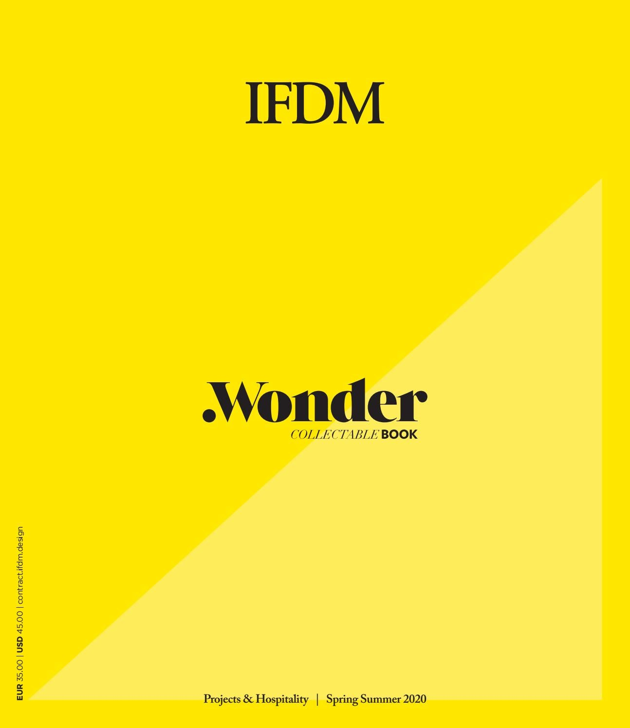 Wonder Book Projects Hospitality International Spring Summer 2020 By Ifdm Issuu