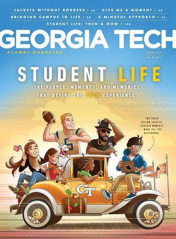 Georgia Tech Yellowjackets Prestige Pen and Keychain Gift Set