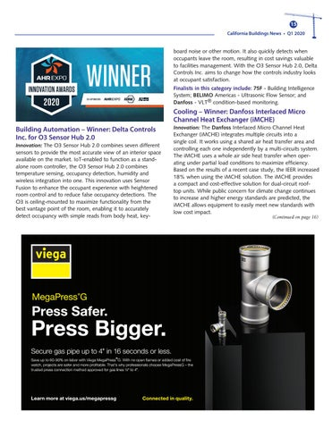 Page 15 of AHR Expo Honors Outstanding HVAC Products