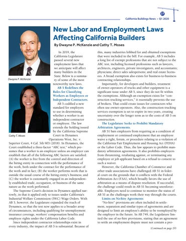 Page 27 of New Labor Laws Affect California Builders
