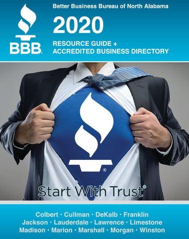 2020 Consumer Resource Guide By Bbbnorthalabama Issuu