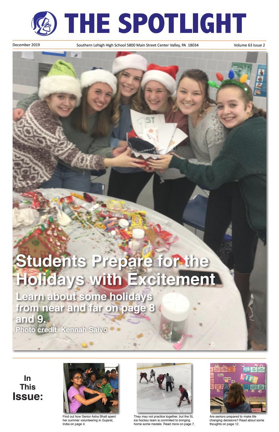 Southern Lehigh 2021 Seniorsr Christmas City Spotlight December 2019 Print Issue By Southern Lehigh Spotlight Issuu